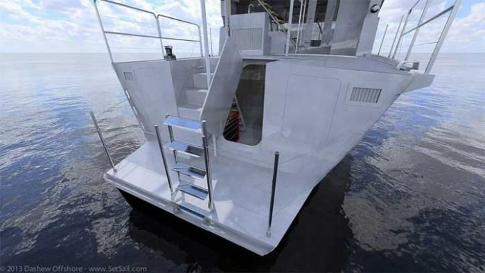 Dashew Offshore's FPB 78 takes shape - 42