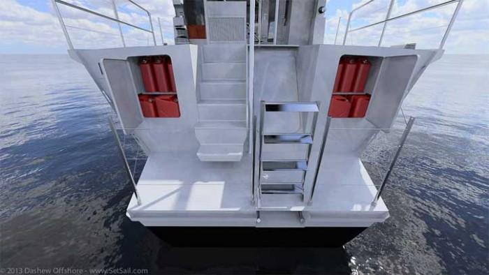 Dashew Offshore's FPB 78 takes shape - 47