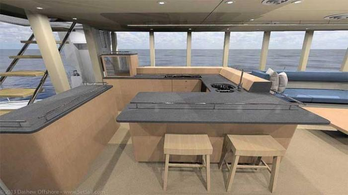 Dashew Offshore's FPB 78 takes shape - 5