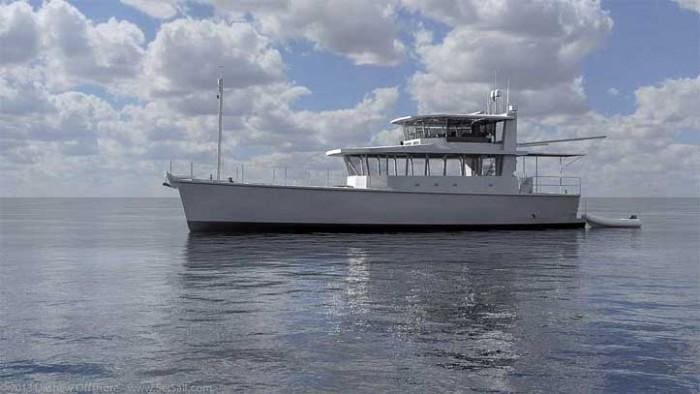 Dashew Offshore's FPB 78 takes shape - 50