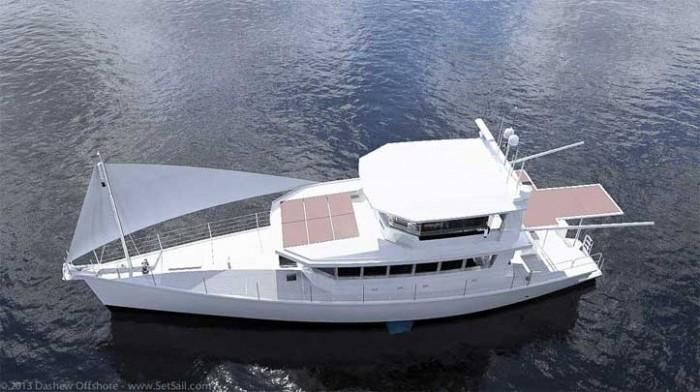 Dashew Offshore's FPB 78 takes shape - 51