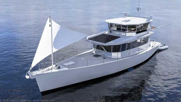 Dashew Offshore's FPB 78 takes shape - 53