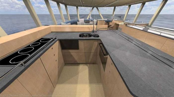 Dashew Offshore's FPB 78 takes shape - 6