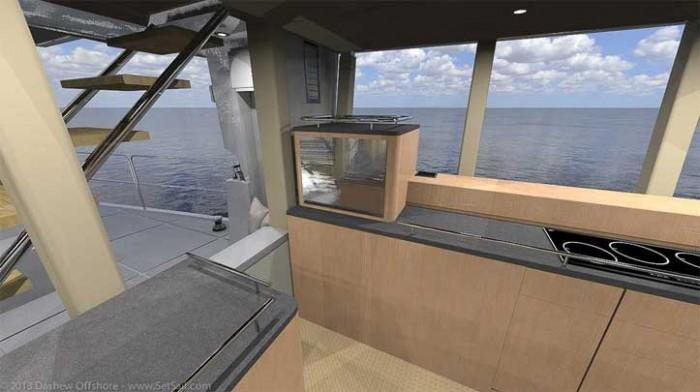 Dashew Offshore's FPB 78 takes shape - 7