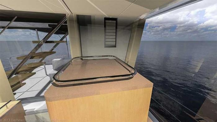 Dashew Offshore's FPB 78 takes shape - 9