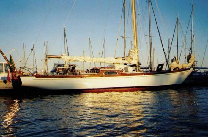 58' Berthon Classic SHELMALIER – Here's one we made earlier - 1