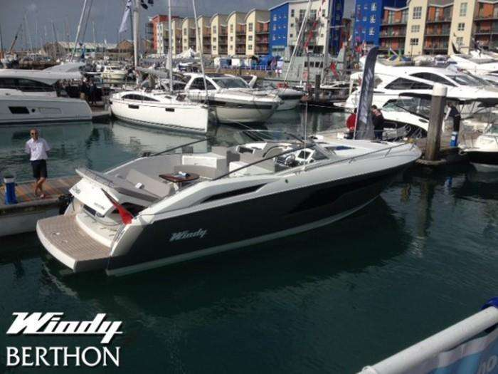 Windy 39 at Jersey Boat show 2014