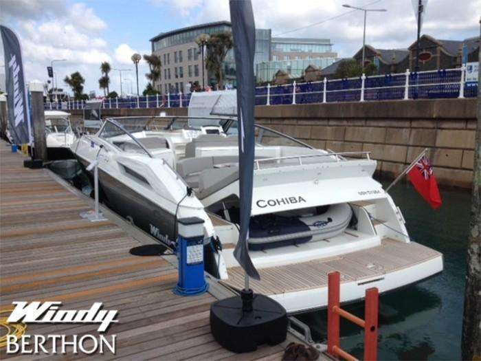 Windy 39 Camira at the Jersey Boat Show