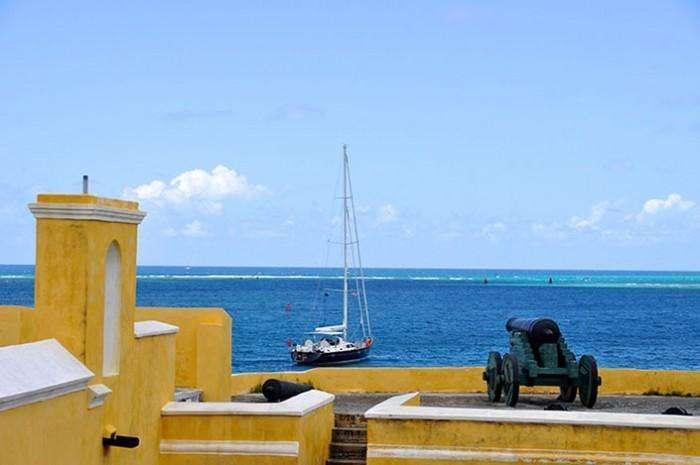 Berthon - Anchored off St Croix, US Virgin Islands