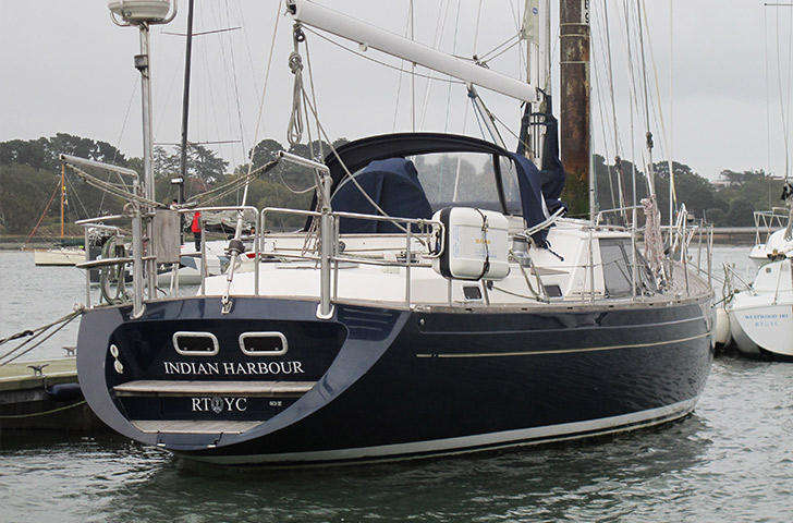 Aft view of Northwind 50