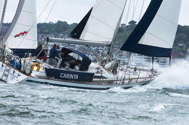 Taswell 49 Sailing