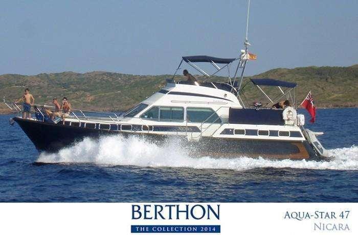 Aqua Star 47 for sale at Berthon