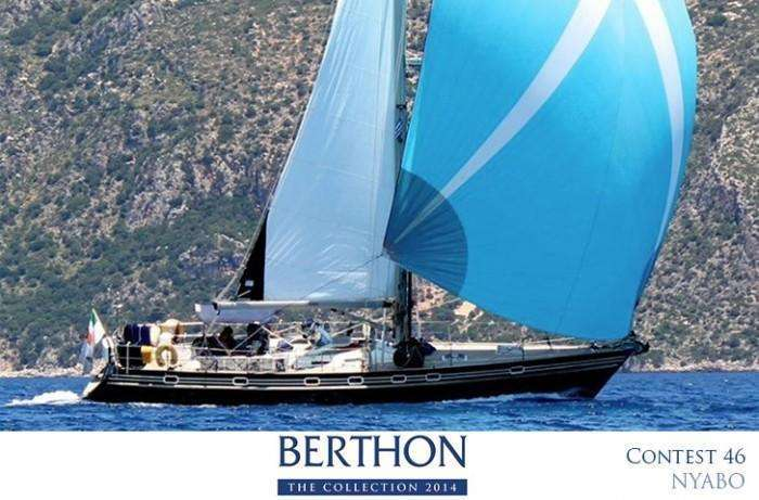 Contest 46/48 for sale with Berthon