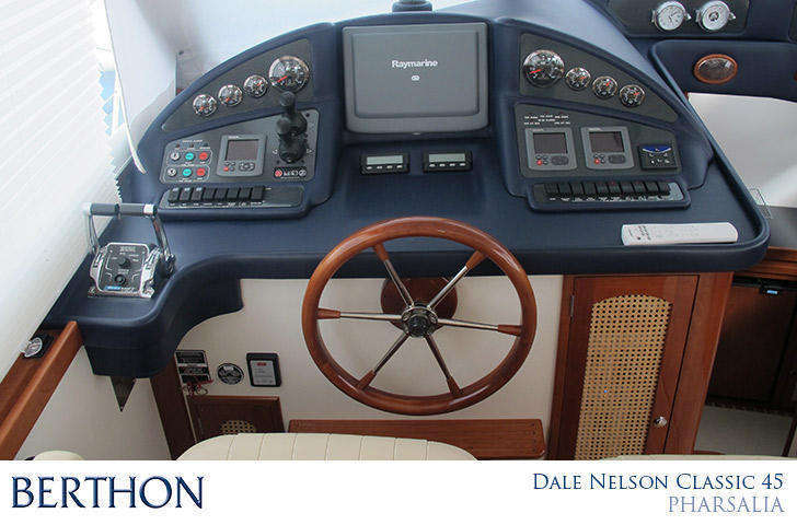 Helm Position on Dale Nelson classic 45