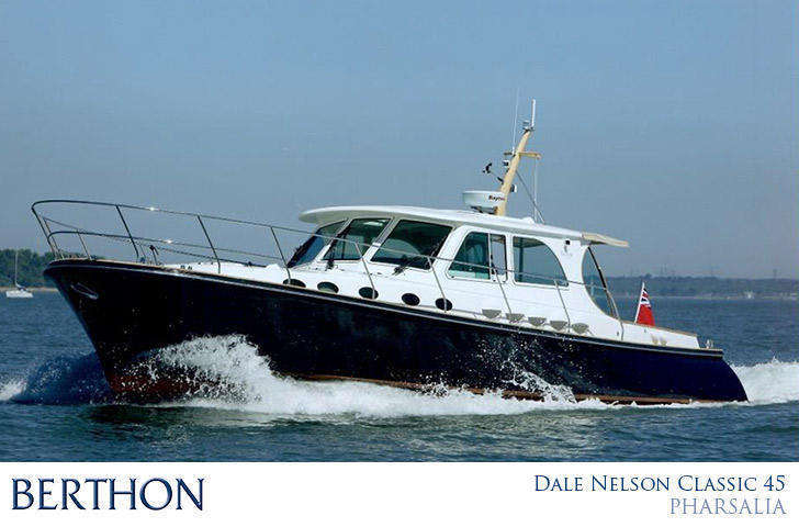 Dale and Berthon join forces - Dale Nelson 45 Classic