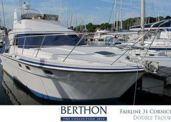Fairline 31 Corniche joins the Berthon Collection XX