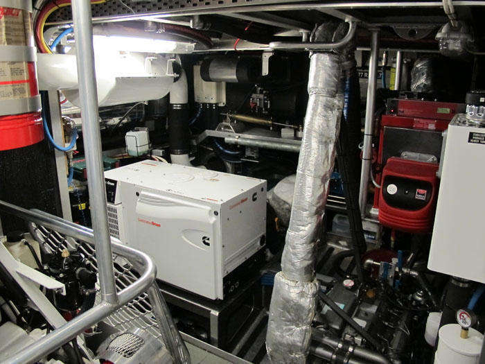 Engine Room for FPB 64 GREY WOLF