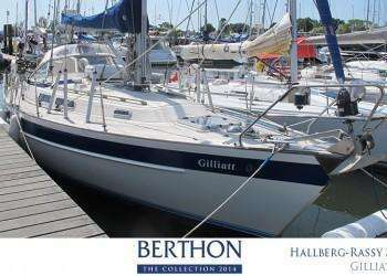 Hallberg-Rassy 36 joins the 20th Berthon Collection