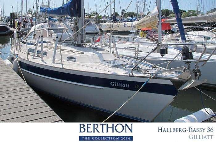 Hallberg-Rassy 36 for sale at Berthon