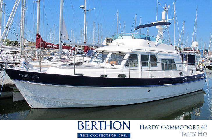 Hardy Commodore 42 Tally Ho