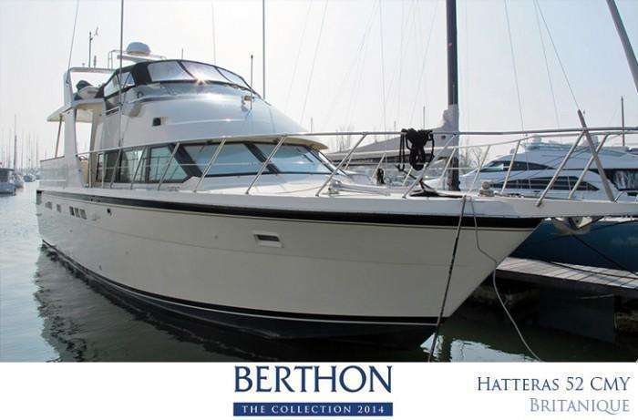 Hatteras 52 for sale