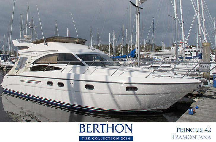 Princess 42 for sale at Berthon