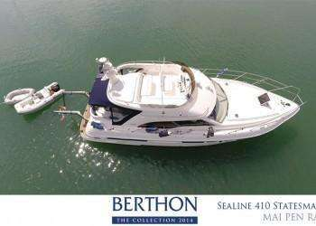 Sealine 410 Statesman joins the 20th Berthon Collection