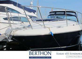 Searay 455 Sundancer joins the 20th Berthon Collection