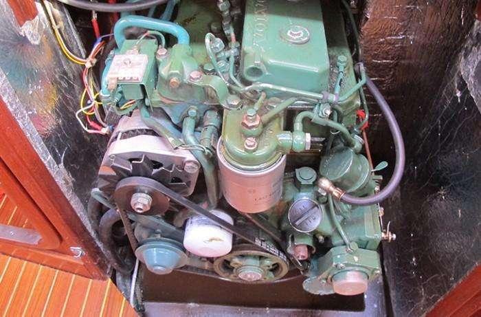 Sweden Yachts 390 engine
