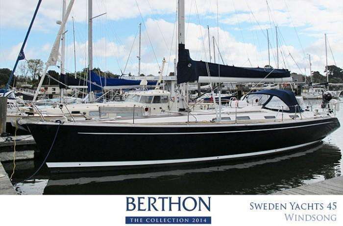 Sweden Ychts 45 joins the Berthon Collection