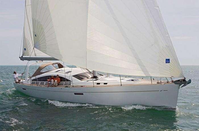 Wauquiez 55 pilot saloon sailing
