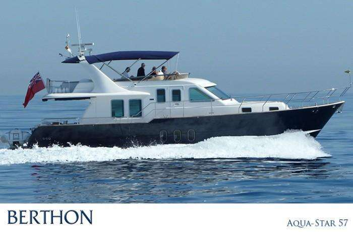 Berthon International offer an Aqua-Star 57 with a Design Unlimted Interior