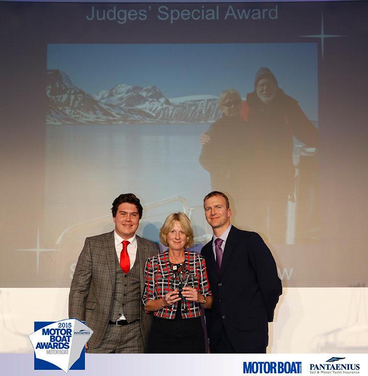 MBY Powerboat Awards - Judges Special Award for Steve & Linda Dashew