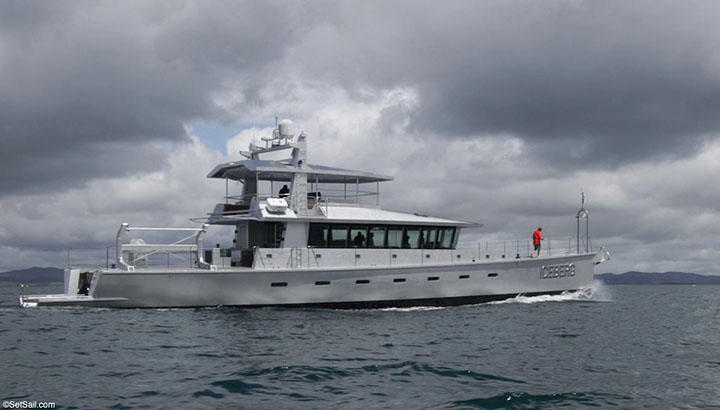 FPB 97 on Sea Trials in New Zealand