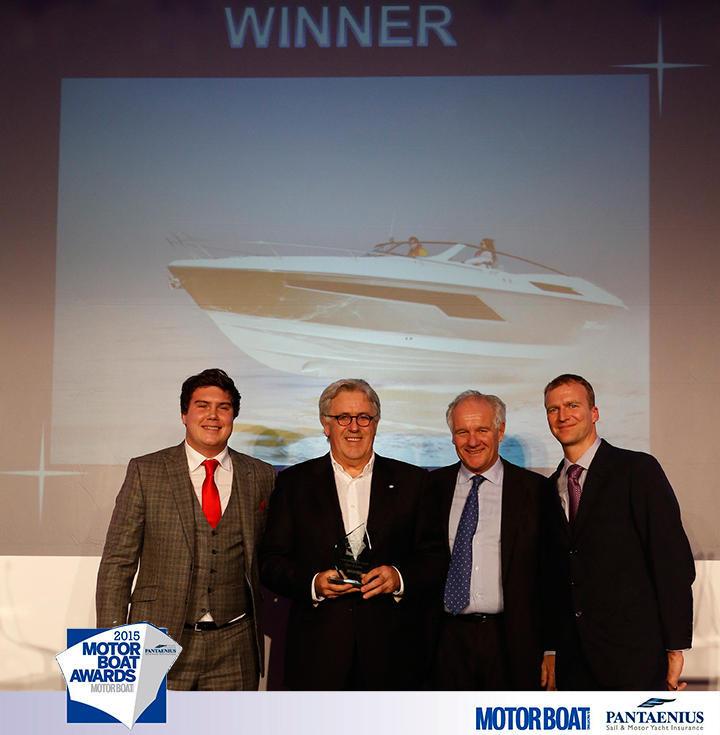 Windy 38 Winner of the 2015 Motorboat Awards