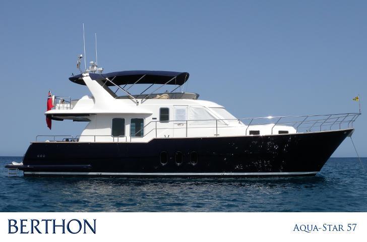 Aqua Star 57 for sale Berthon