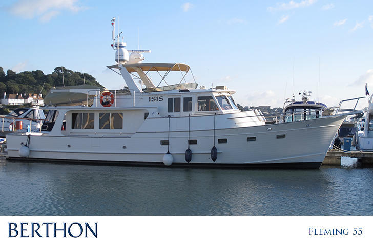 Fleming 55 motor yacht for sale