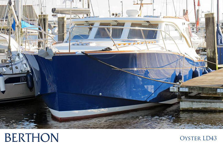 Oyster LD 43 Motor yacht for sale