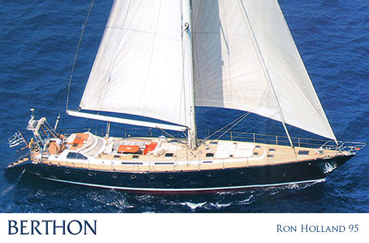 Ron Holland 95 sailing yacht for sale