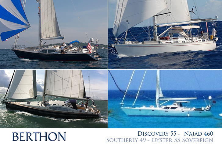 Mile munching bluewater yachts from Berthon