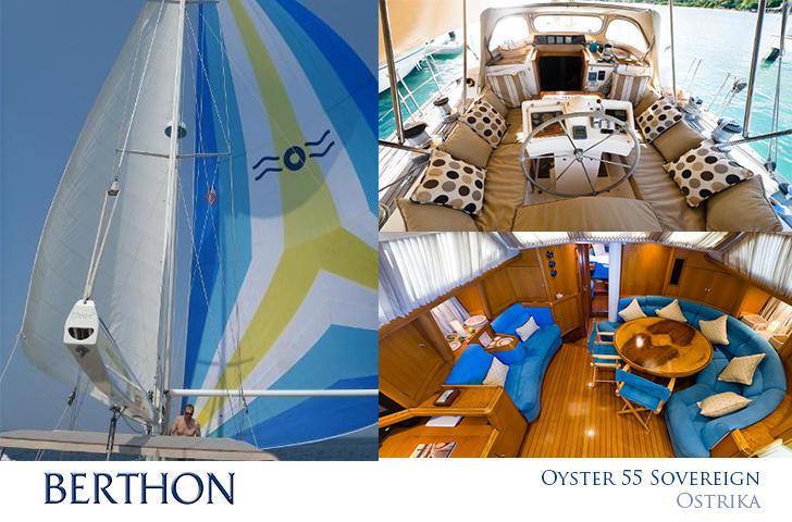 Oyster 55 Sovereign Berthon