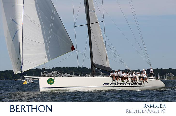 RAMBLER 90 for sale - Berthon International Yacht Broker
