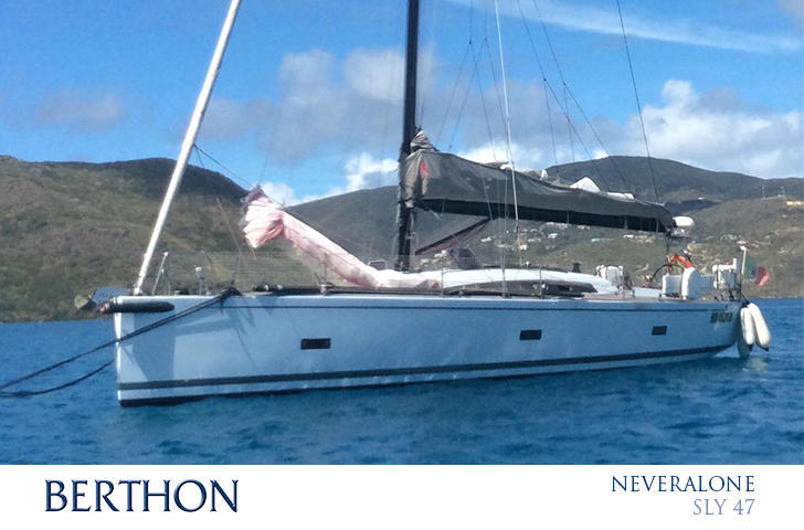 Sly 47 - Performance Yachts for Sale at Berthon