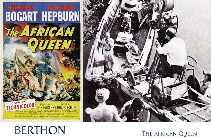the african queen poster filming
