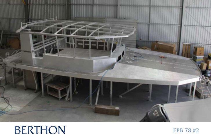 FPB 72 in build at Circa Marine - Matrix Deck