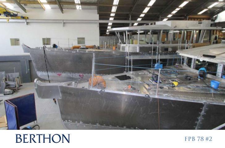 FPB in Build at Circa Marine - Dashew Offshore