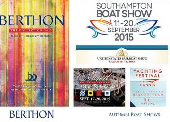 Berthon does the Autumn Boat Shows
