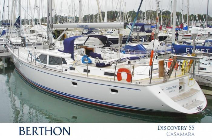 Discovery 55 for Sale - CASAMARA - Berthon
