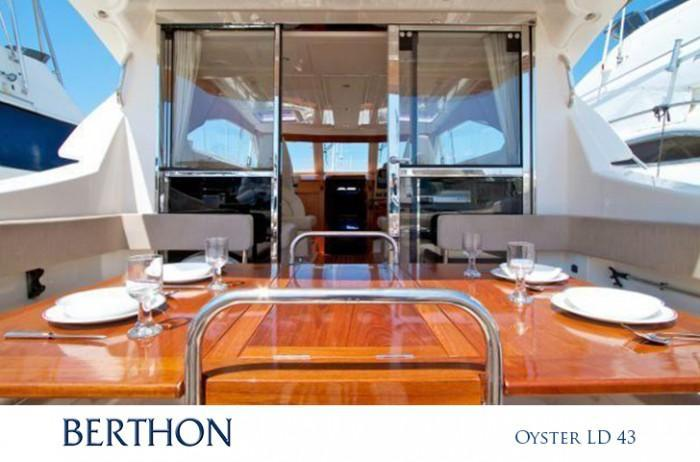 Aft Deck of the Oyster LD 43