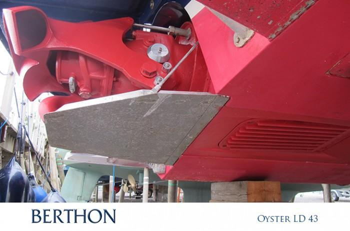 Oyster LD fitted with Hamilton Water Jet Propulsion system